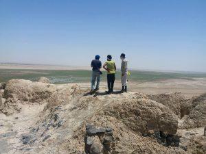 antike Stätte im Osten von Iran