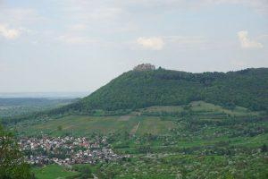 Mittelalterliche Burg Hohenneuffen