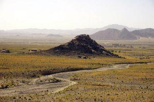 Hausberge Zabols im Osten von Iran