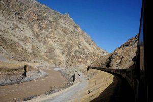 Zugfahrt von Andimeshk nach Dorud
