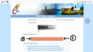 das neue e-visa Indien