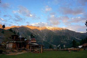 Basecamp der ersten Nanga Parbat Expeditionen