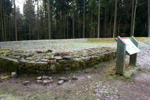 Limeswanderweg-Abschnitt Saalburg