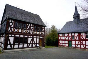 Limeswanderweg-Abschnitt Saalburg hessenpark